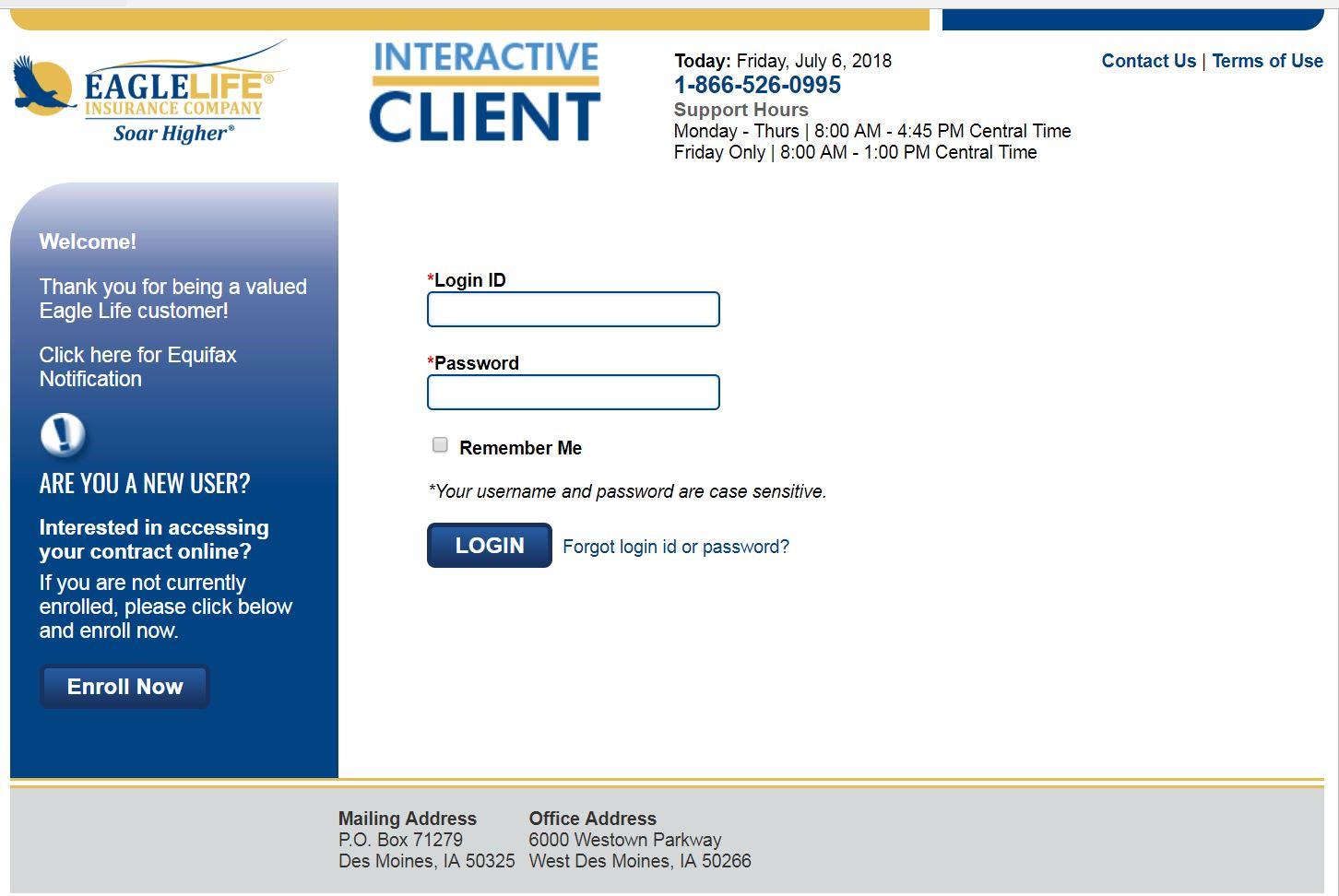 Client Website Login client resources